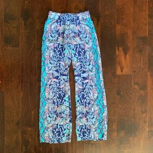 NWT Lilly Pulitzer Mid-Rise Pants - Size XXS